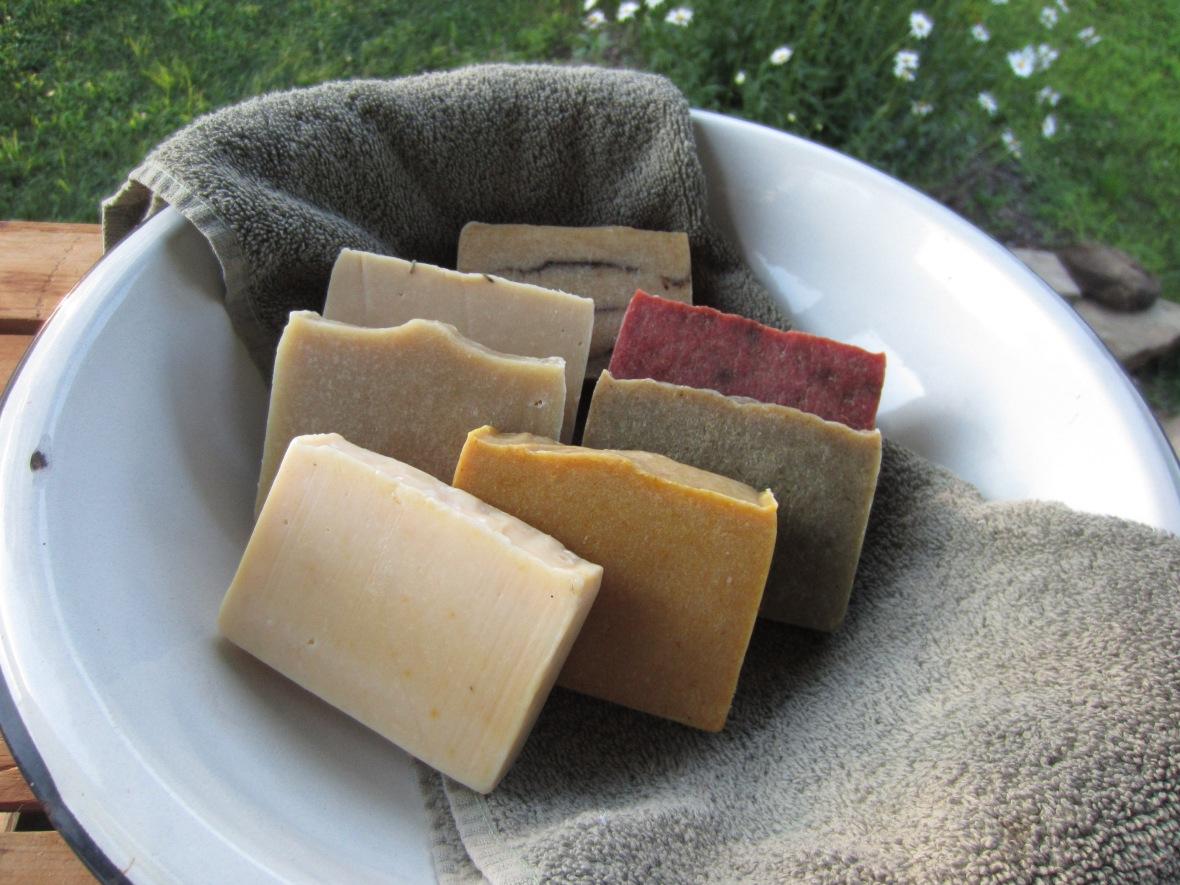 Citrus Clove, Sassafras, Rosemary Mint, Summer Soap, Lavender, Bug-Off, Lemon Baking Soda